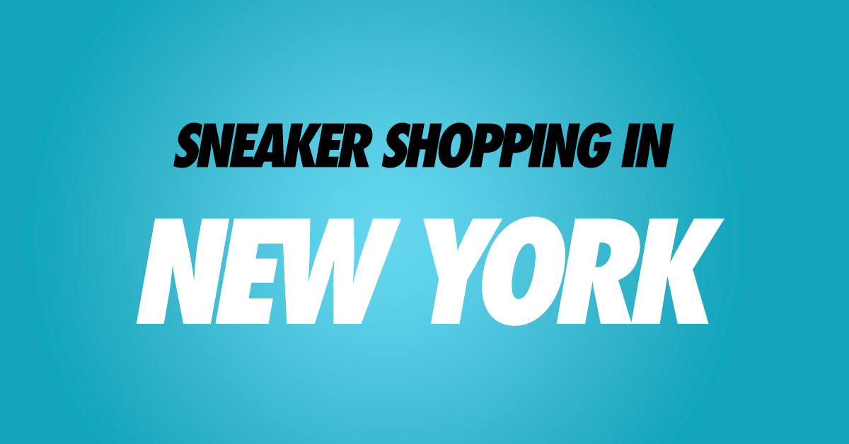 Sneaker Stores in New York