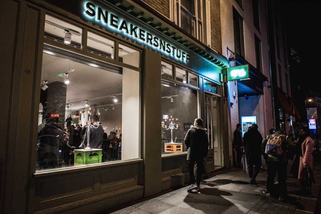 Sneakersnstuff London - SneakMap - By